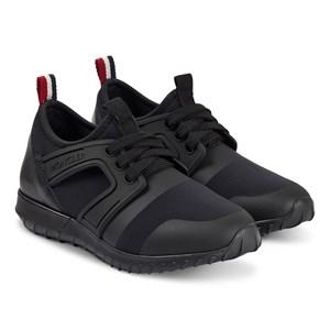 Moncler Elliot Neoprene Sneakers Svarta 31 (UK 12.5)