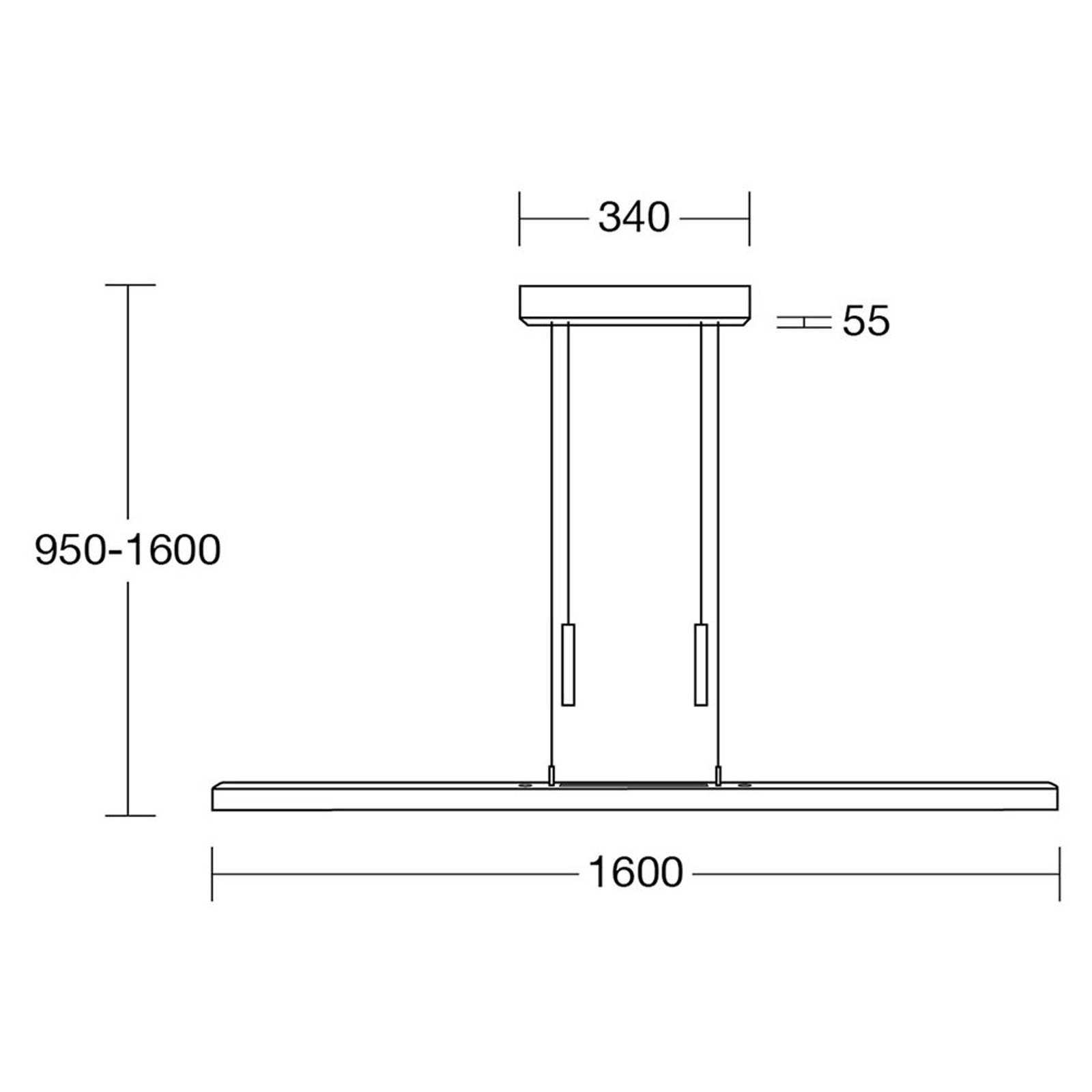 HerzBlut Leonora -riippuvalo Up&Down 160 cm
