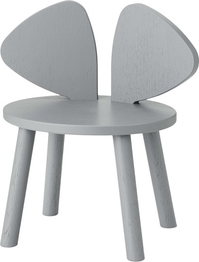 Nofred Mouse Stol, Grey