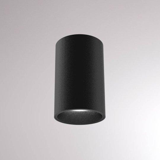 LOUM Atus Round LED-taklampe svart