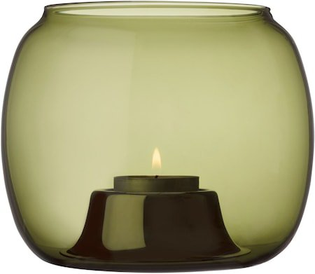 Kaasa Lyslykt Mosegrønn 141x115 mm