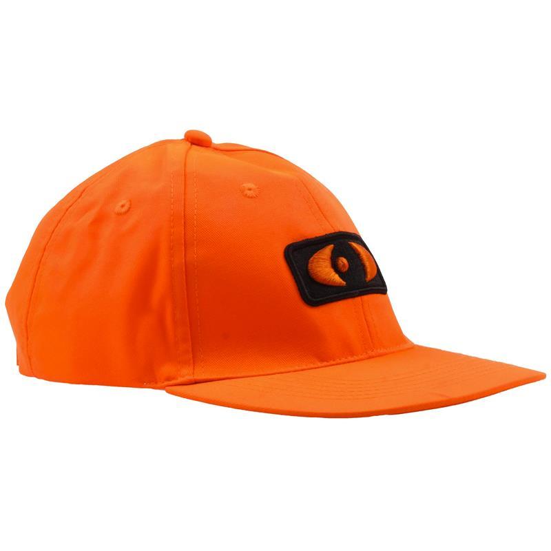 """Neverlost Cap """"Proud Hunter"""" Oransje Cap med feste til grankvist"""