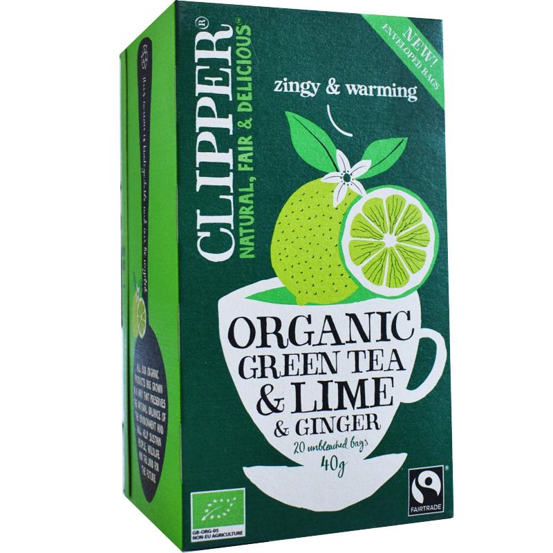Vihreä Tee Inkivääri & Lime - 52% alennus