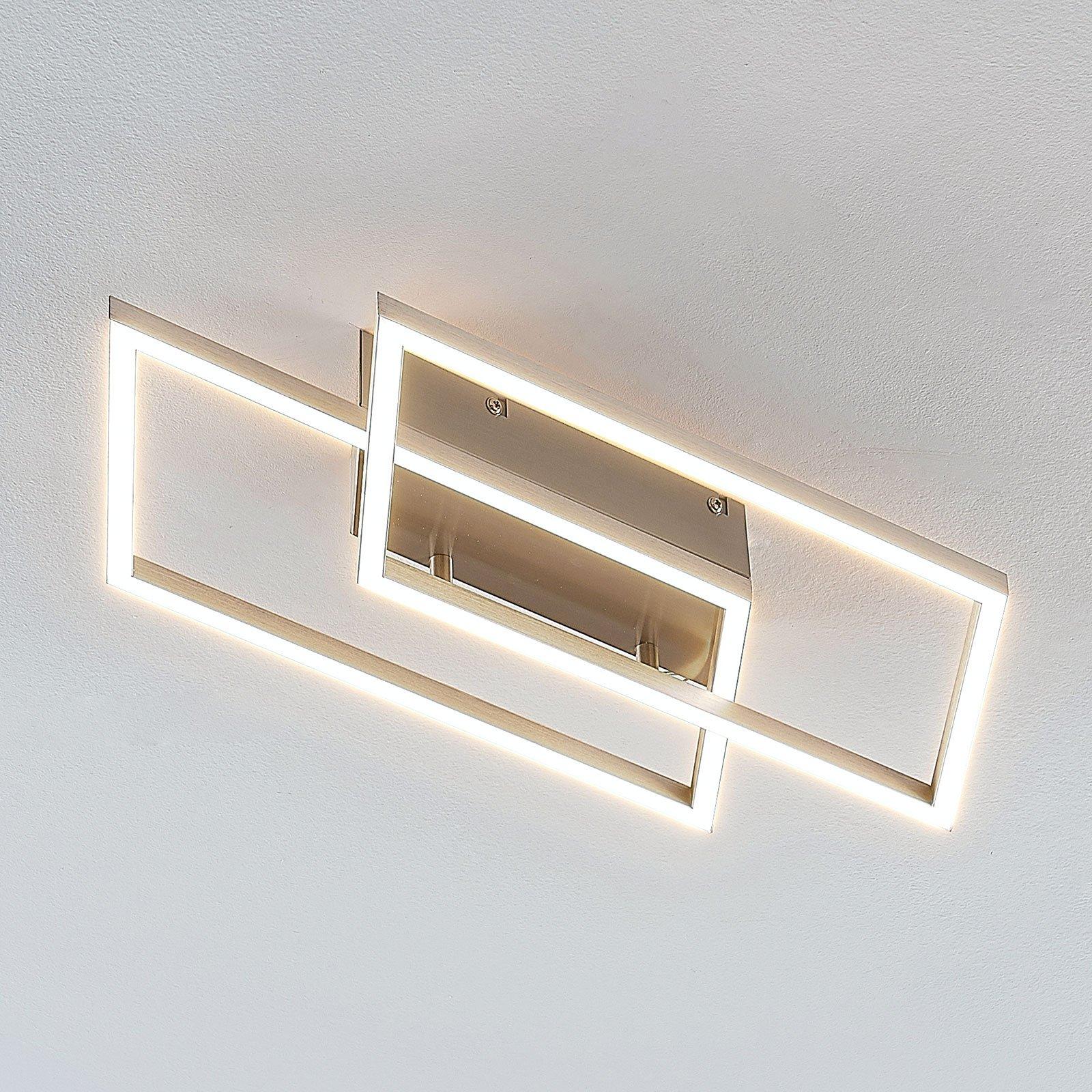 Quadra – LED-taklampe, dimbar med bryter