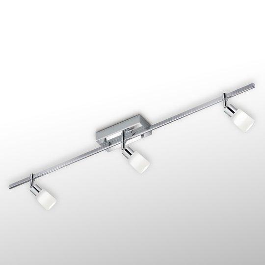 LED-kattovalaisin Siara, 3-os. kromi 2 900 K