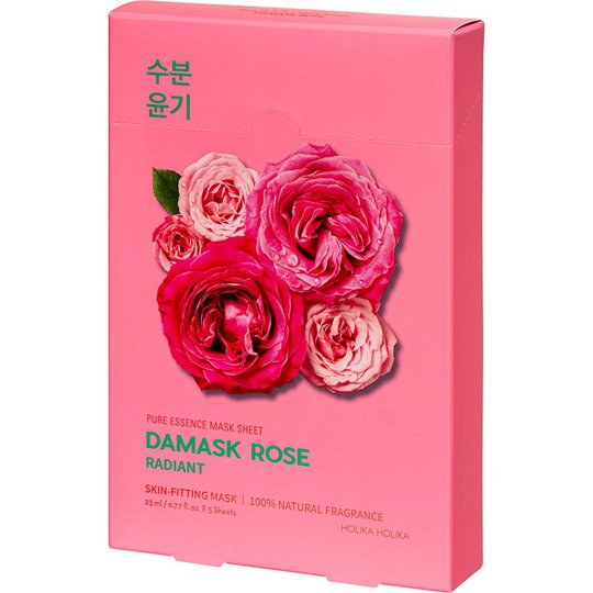 Pure Essence Mask Sheet Pack Damask Rose, Holika Holika Kasvonaamio
