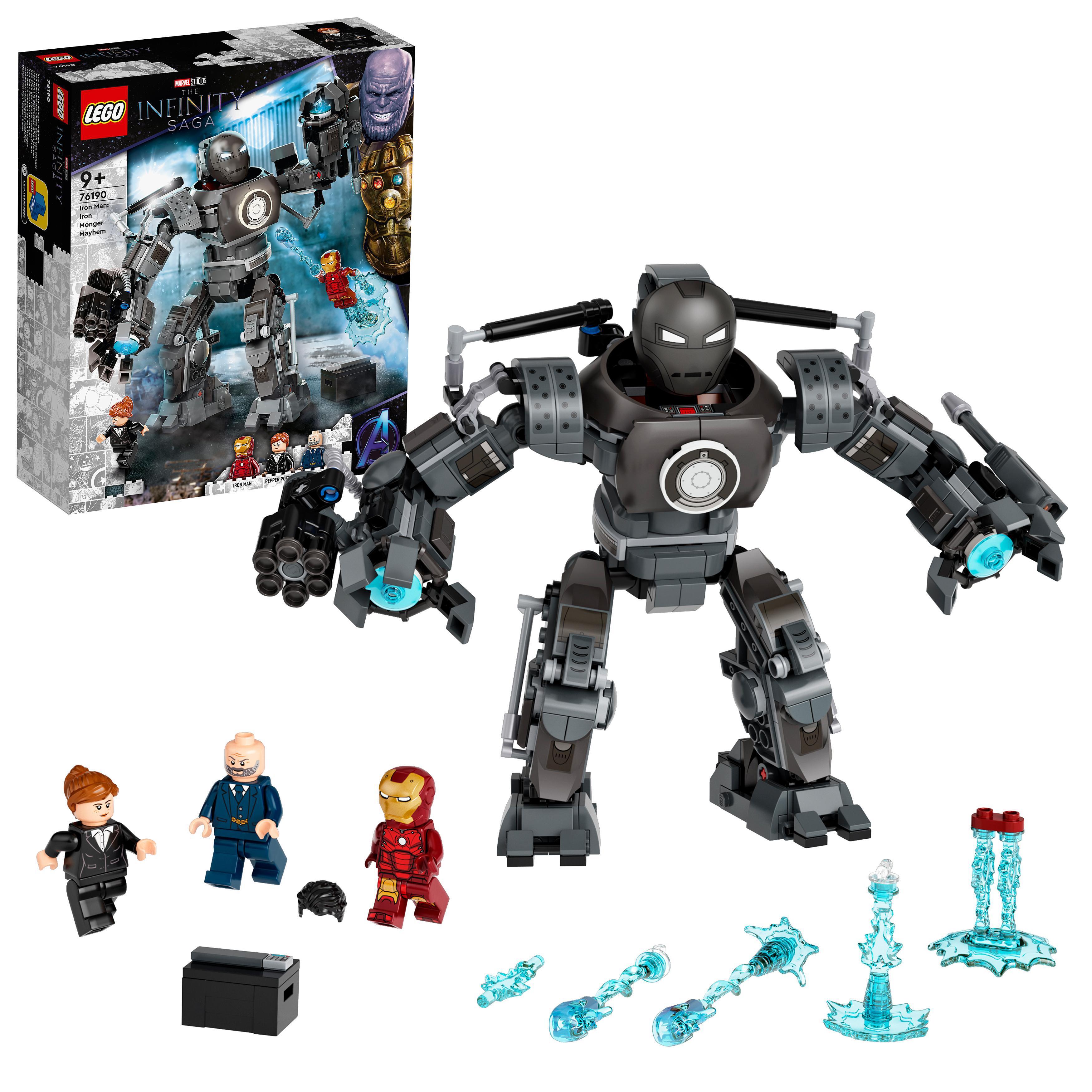 LEGO Super Heroes - Iron Man: Iron Monger Mayhem (76190)