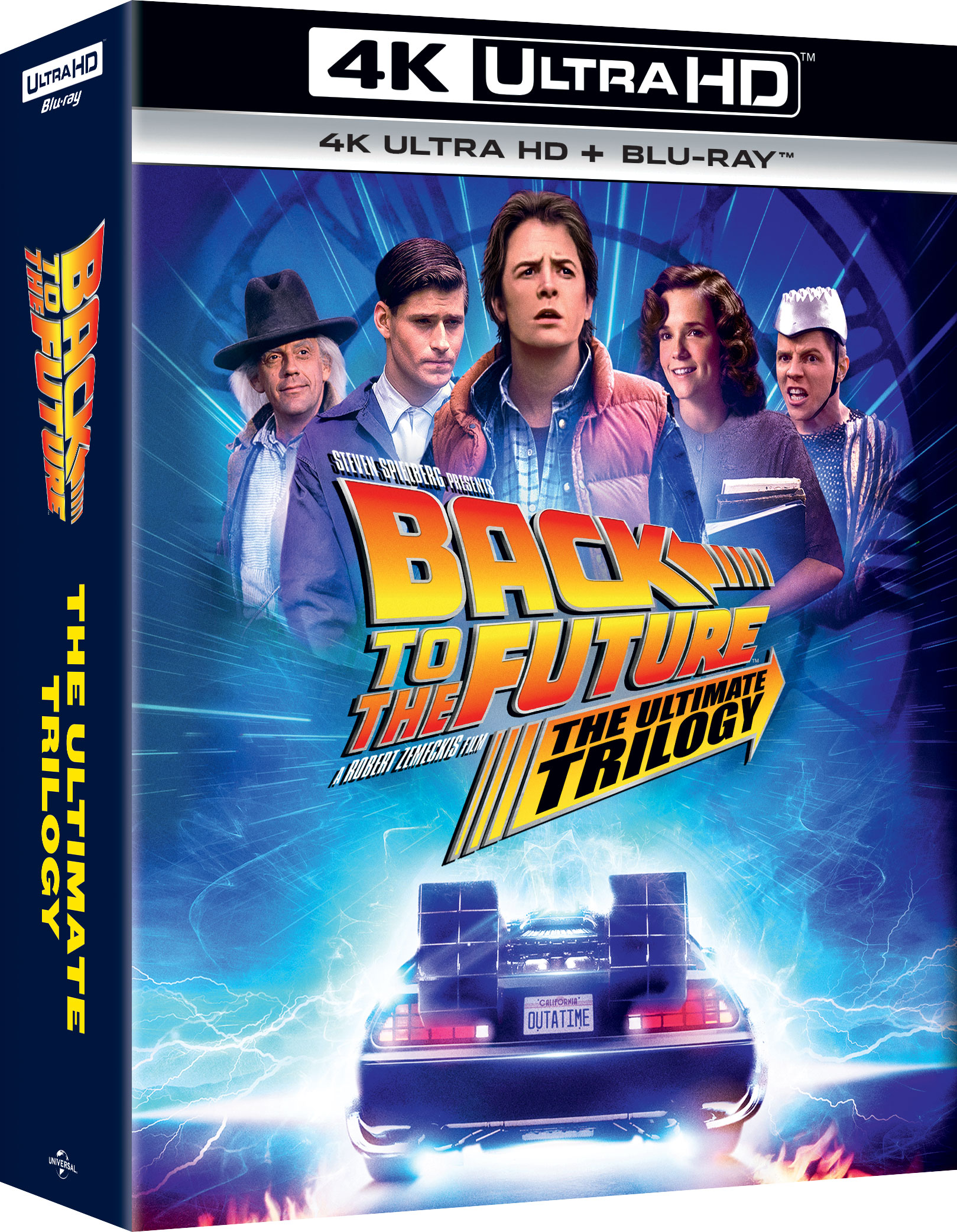 Back To The Future: The Ultimate Trilogy 4K (Uhd+Bd)