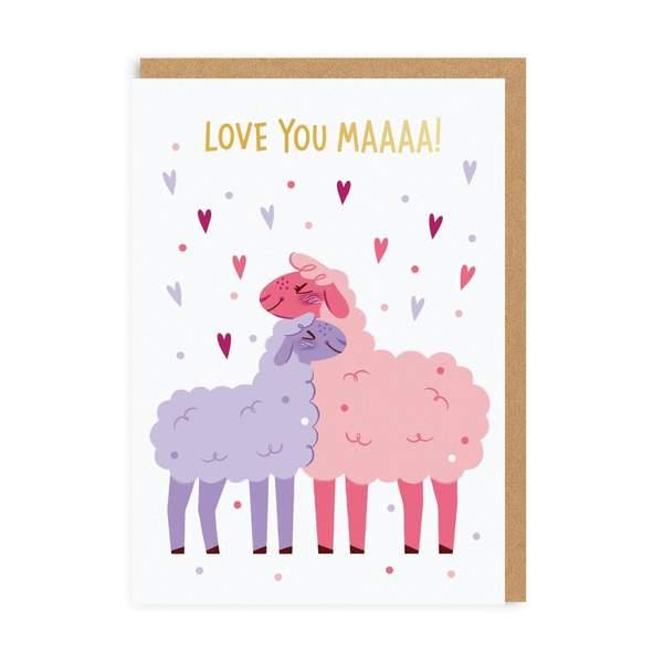 Love You Maaa! Greeting Card