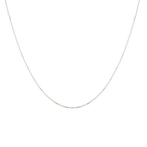 Halsband i äkta silver 68 cm