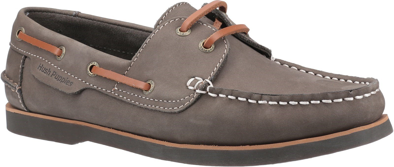 Hush Puppies Men's Henry Classic Lace Up Loafer Various Colours 28365 - Khaki 6