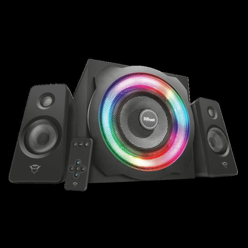 Trust GXT 629 Tytan RGB Illuminated 2.1 Speaker Set