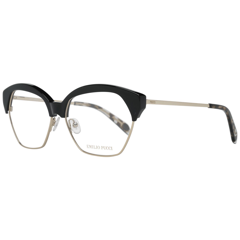 Emilio Pucci Women's Optical Frames Eyewear Black EP5070 56001