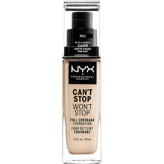 Can't Stop Won't Stop Foundation, NYX Professional Makeup Meikkivoide