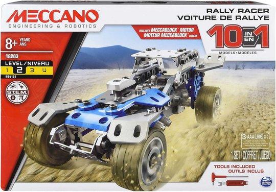 Meccano Byggesett Med Motor 10-pack