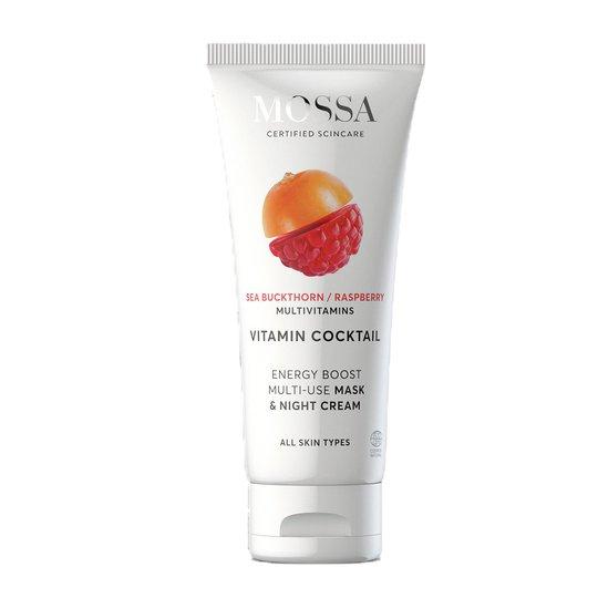 Vitamin Cocktail Mask&Night cream, MOSSA Luonnonkosmetiikka