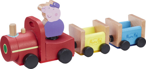 Peppa Pig - Wooden Train and Figure (20-00111)