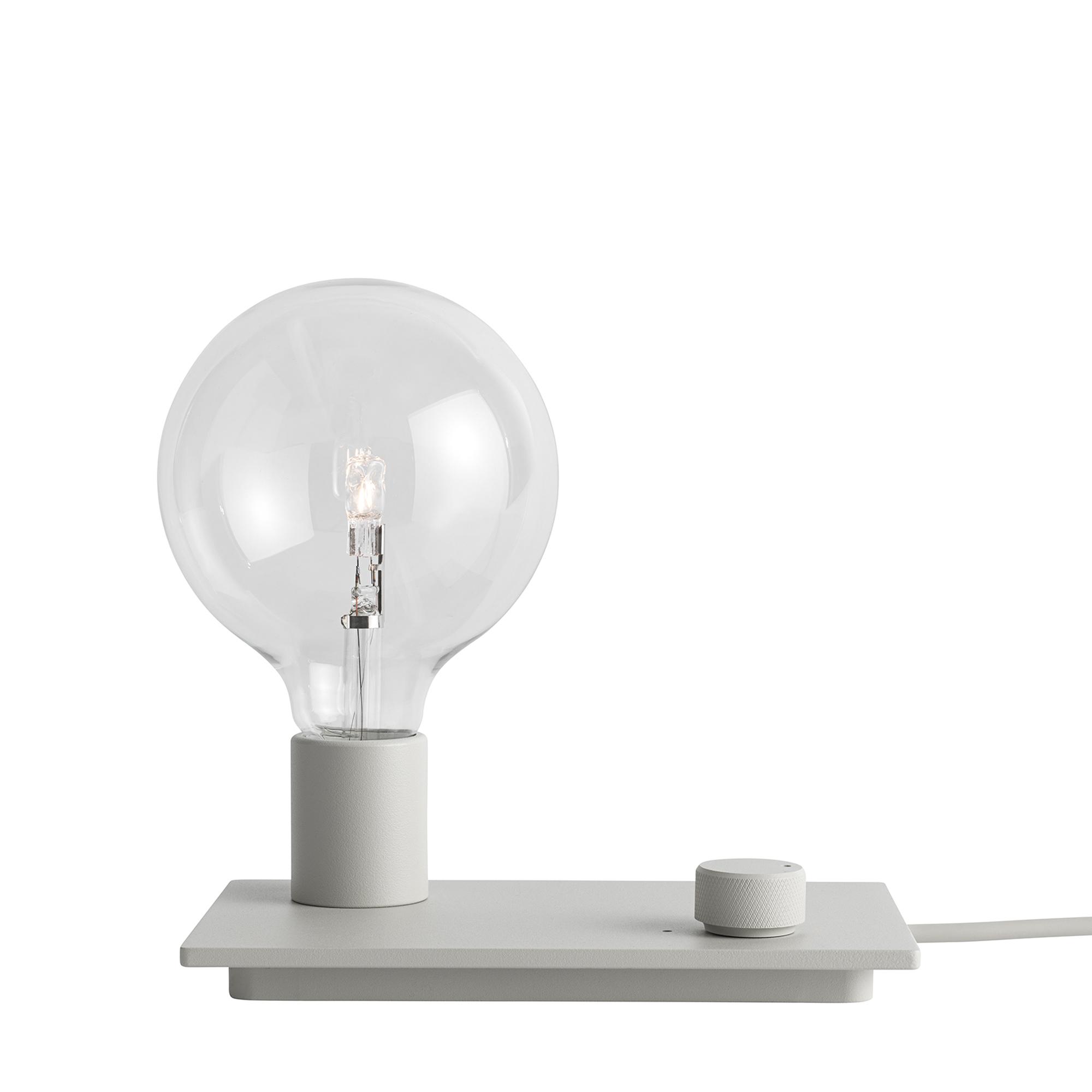 Muuto Lampa Control grå LED