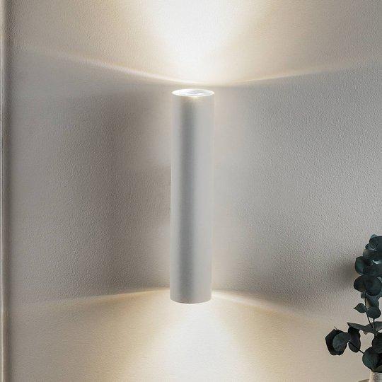 Vegglampe Tube up/down, hvit