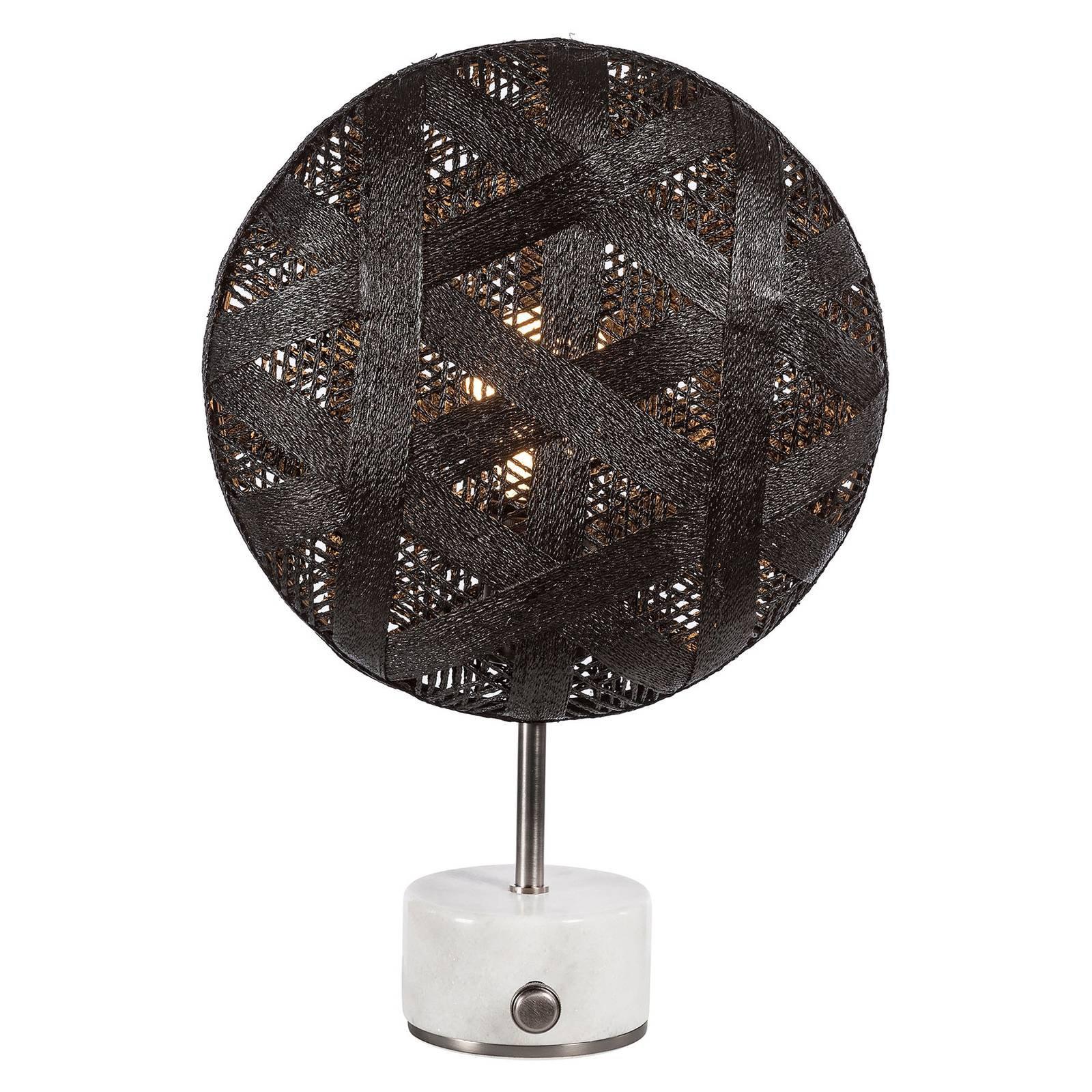 Forestier Chanpen S heksagonal bord, sølv/svart