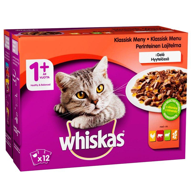 Kissanruoka Lihalajitelma Hyytelössä - 24% alennus