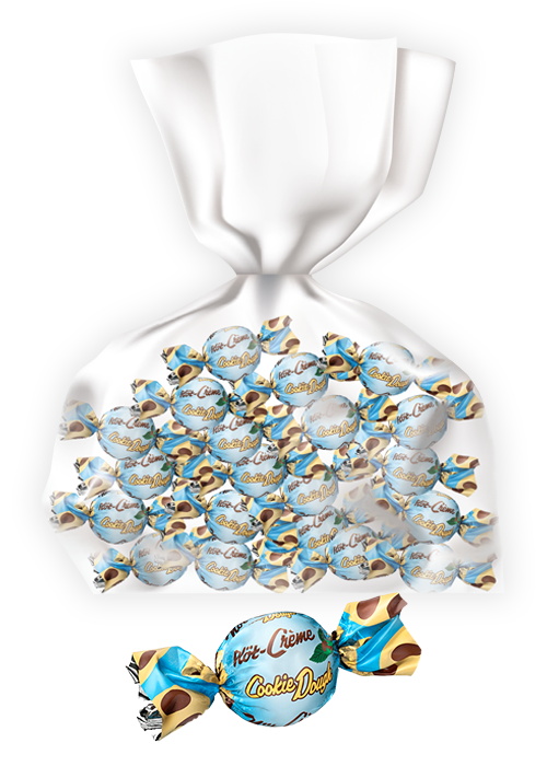 20st - Nöt-Créme Cookie Dough Pralin 14G