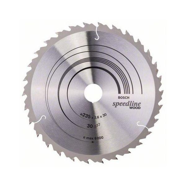 Bosch 2608640807 Speedline Wood Sagklinge 30T