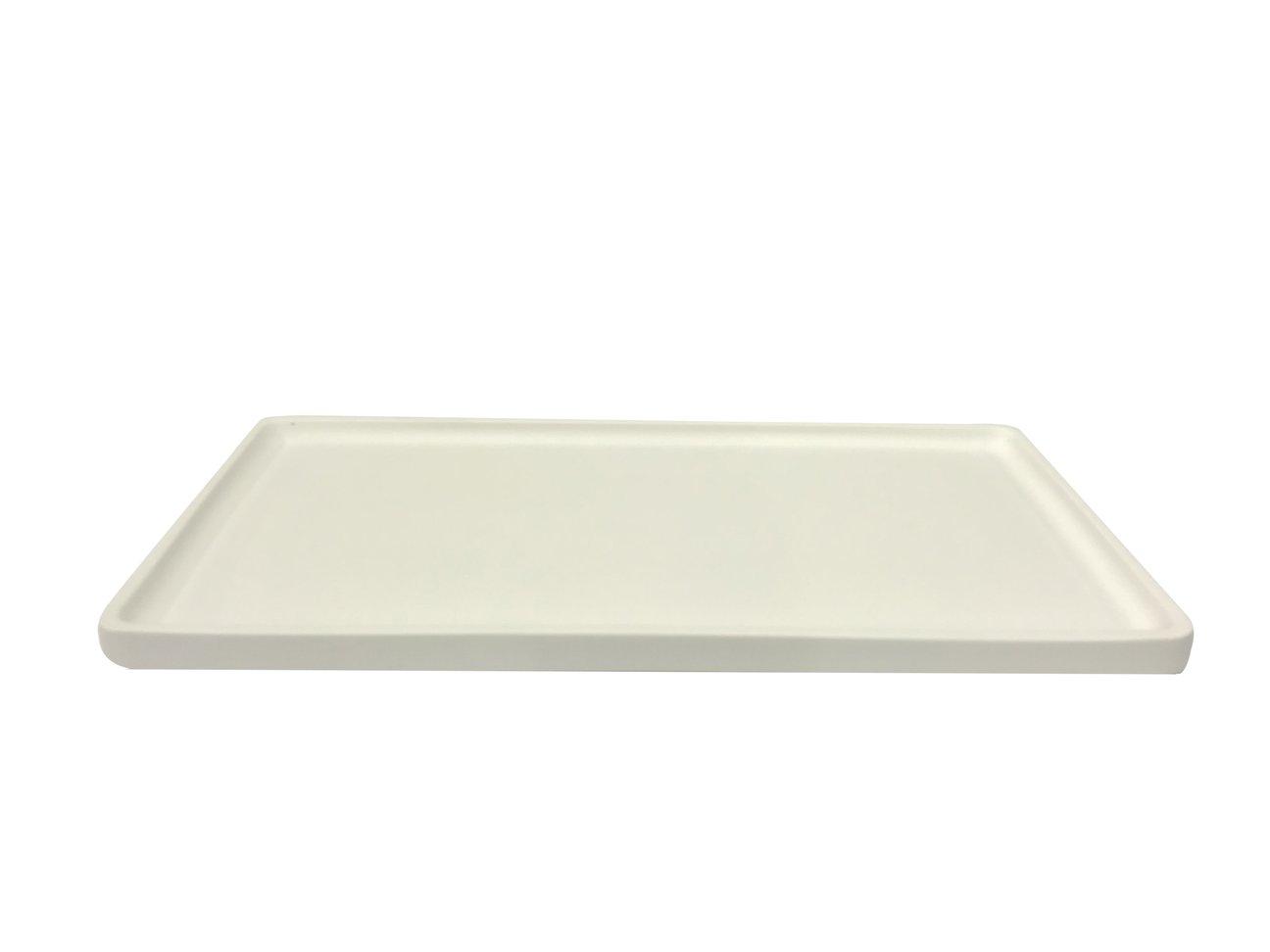 LIKEconcrete - Karin Tray Medium 40 x 20 x 2 cm - White (93771)