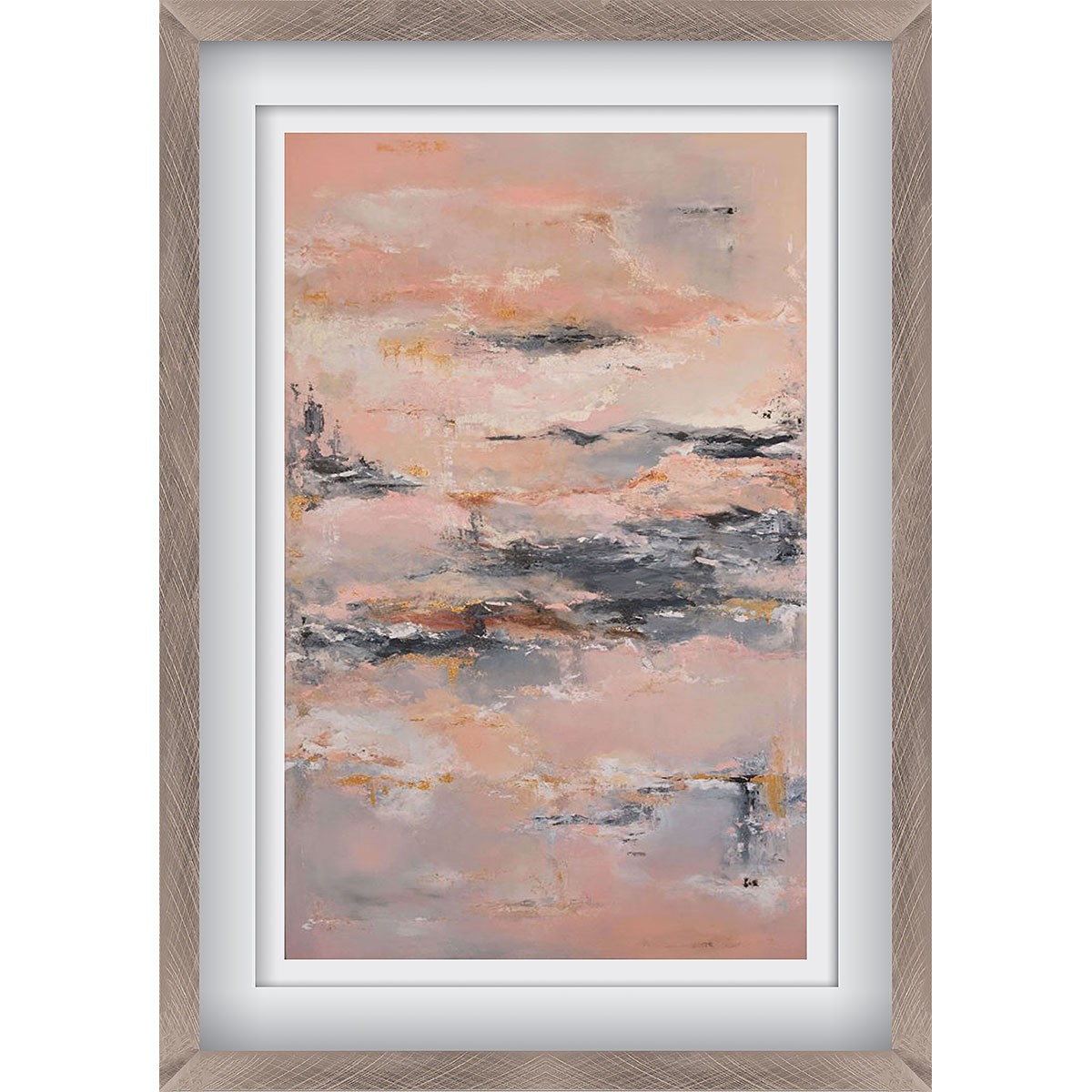 Japanese Garden in the Sky Pewter - X-Large