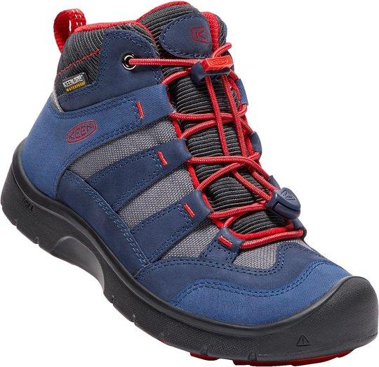KEEN Hikeport Mid WP Sneakers, Dress Blue 32-33