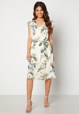 Happy Holly Sally dress White / Floral 44/46