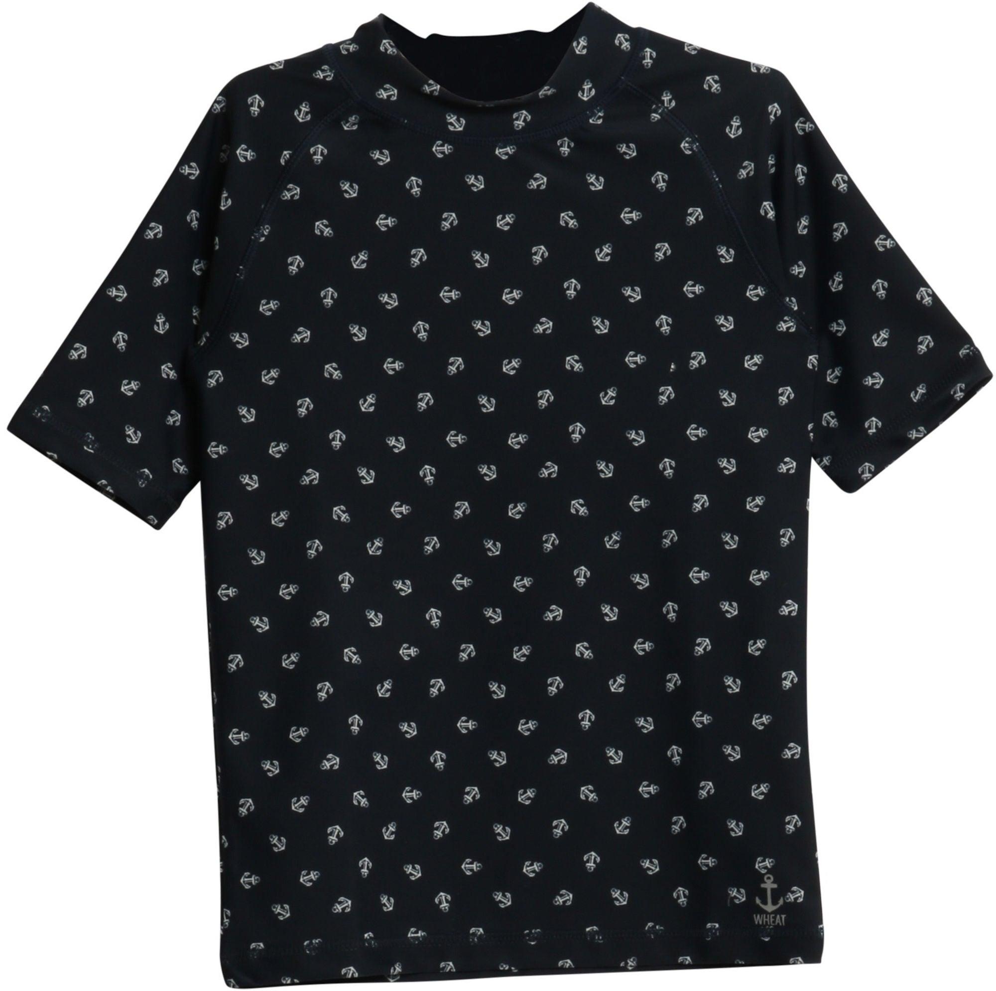 Wheat Jackie Swim T-Shirt, Navy 128