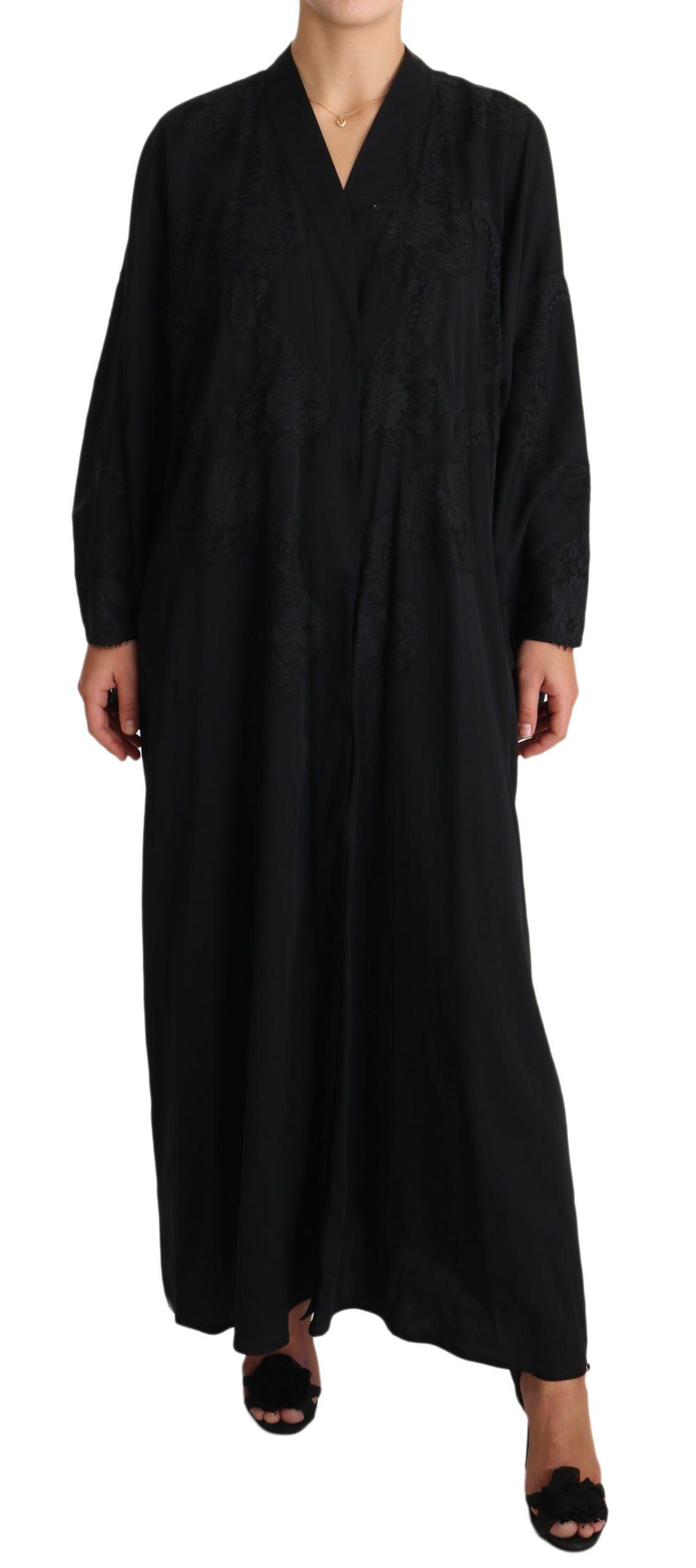 Dolce & Gabbana Women's Dress Black DR1902 - IT42 M