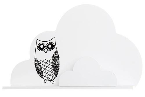 Vinter & Bloom - Sky Shelves Forest Collection - White