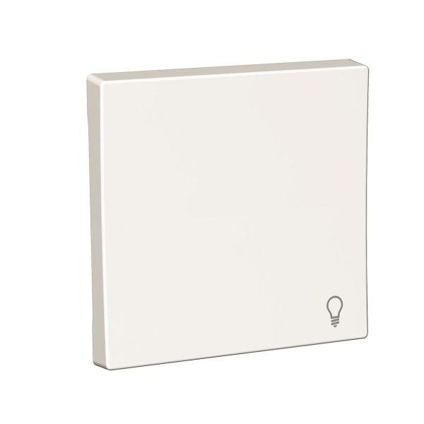 Schneider Electric Exxact Vipupainike valkoinen, symbolilla Lamppusymboli