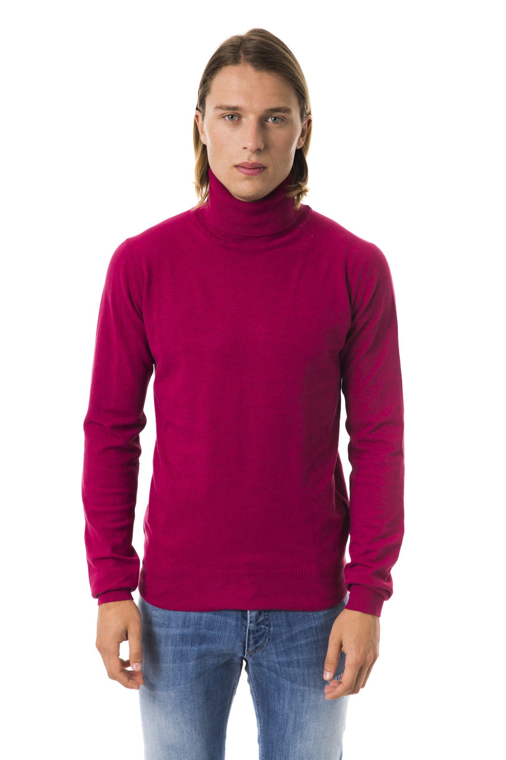 BYBLOS Men's Violaantico Sweater Fuchsia BY815835 - XL