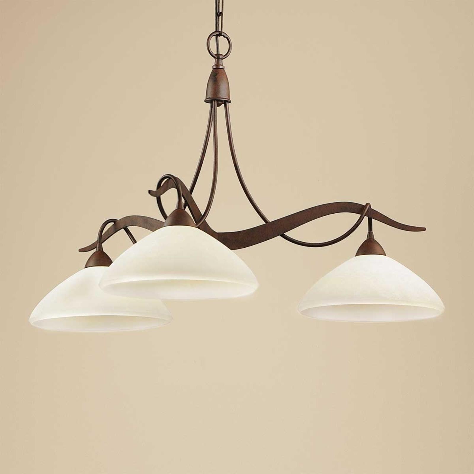 Riippuvalaisin Samuele 3-lampp., scavo