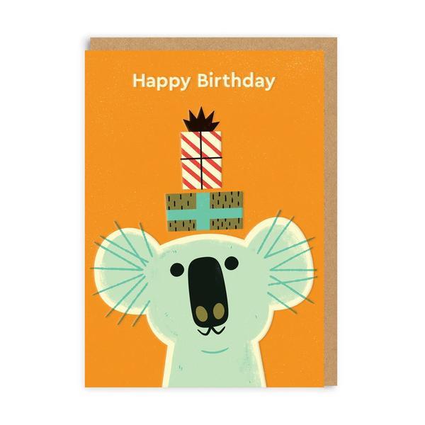 Birthday Koala Greeting Card