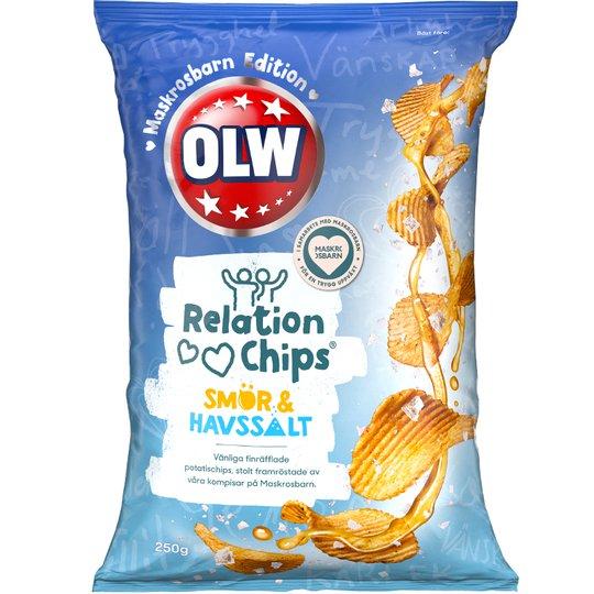 Chips Smör & Havssalt - 32% rabatt