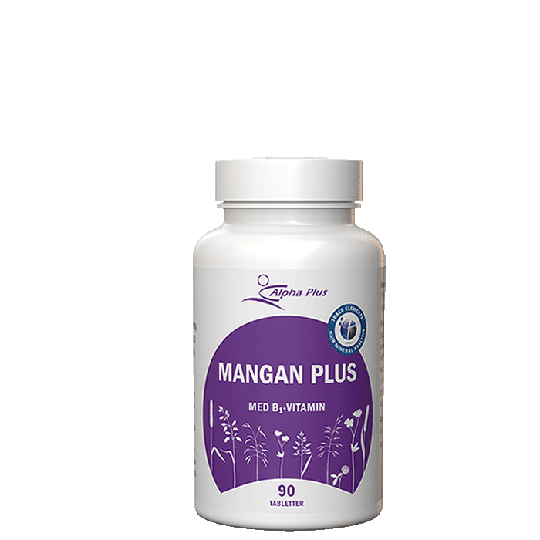 Mangan Plus, 90 tabletter