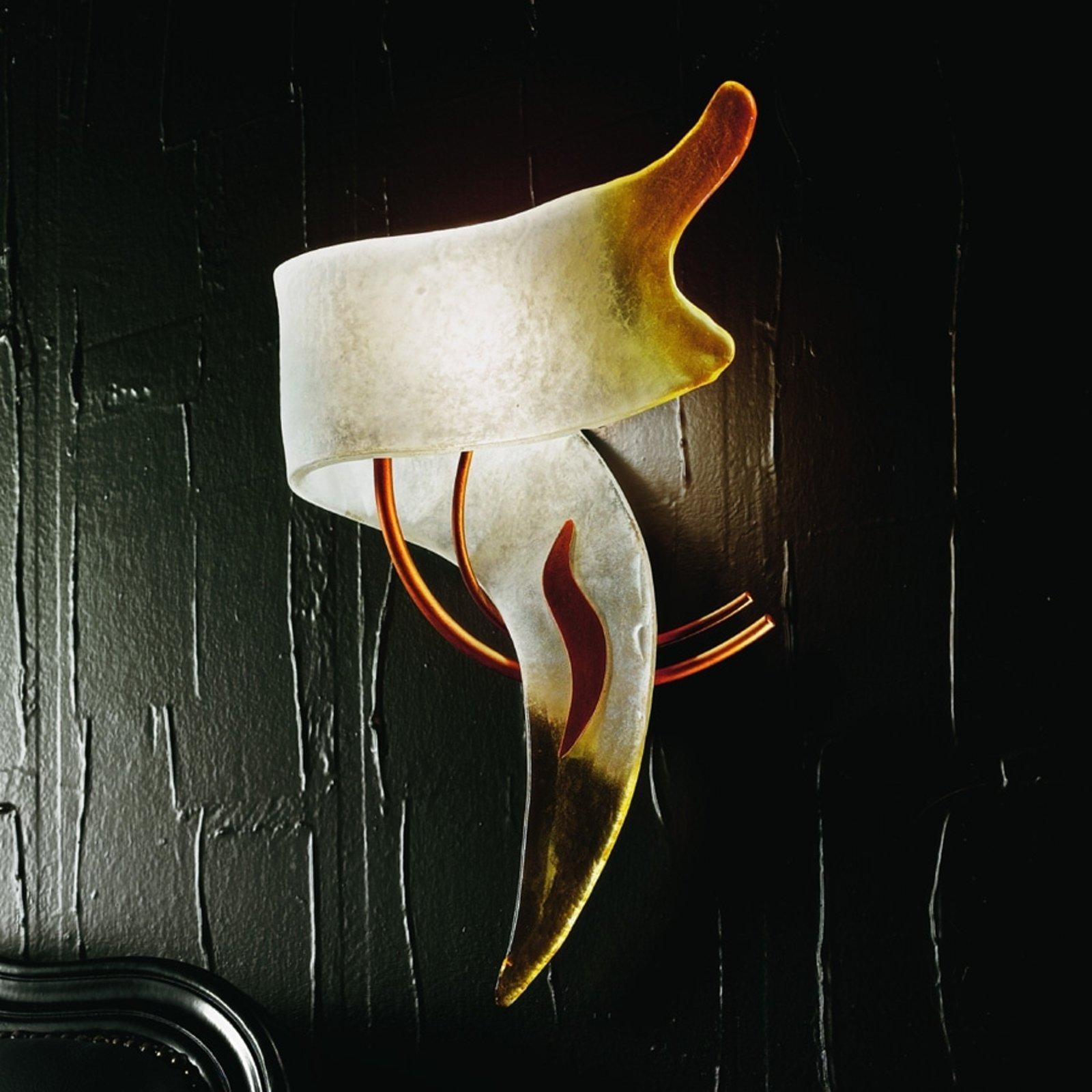 CAPRI italiensk designer-vegglampe høyrevendt