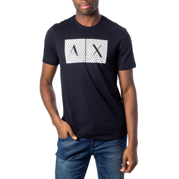 Armani Exchange Men's T-Shirt Blue 171385 - blue XS