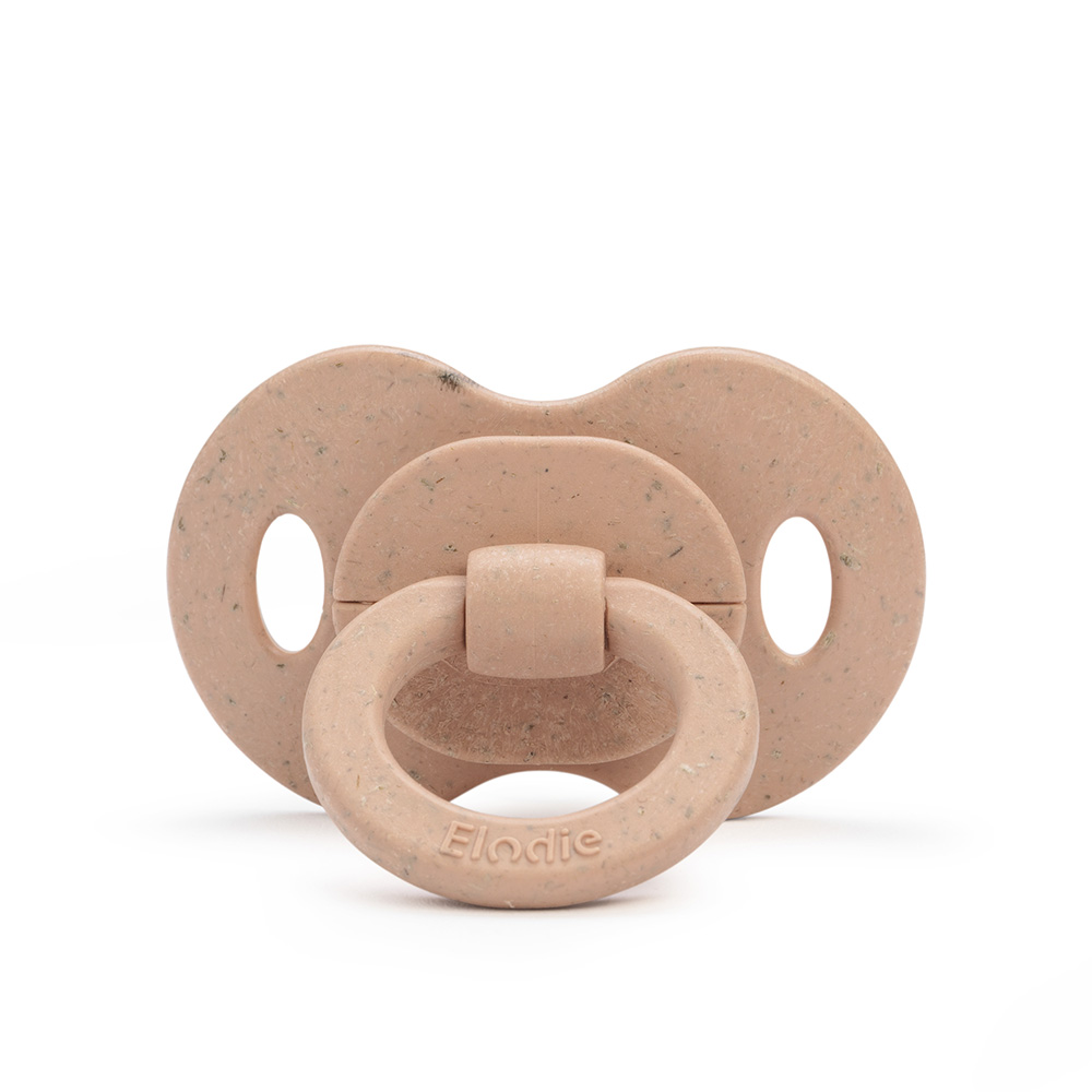 Bamboo Soother Natural Rubber 3+ months - Blushing Pink
