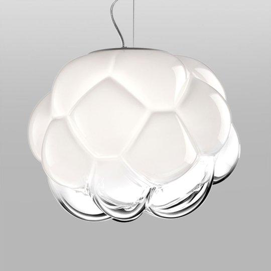 Pilvimäinen LED-riippuvalaisin Cloudy, 40 cm