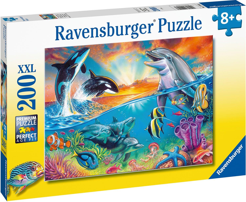 Ravensburger Pussel Havsliv 200 Bitar