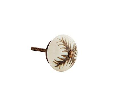 Dørhåndtak Ø 4 cm - Natur