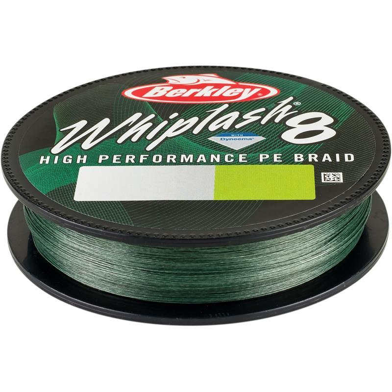 Berkley Whiplash 8 300m Green 0,08 mm