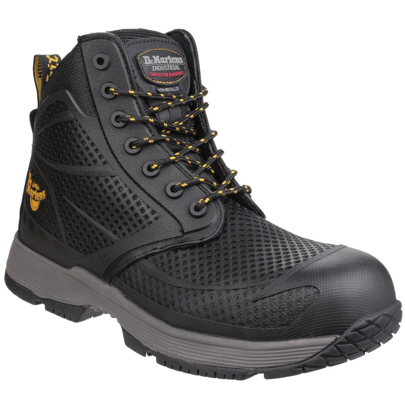 Dr Martens Unisex Calamus Lace up Safety Boot Black 24535-40574 - Black 7