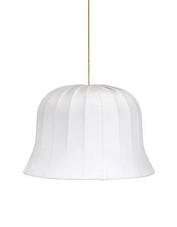 Bell Fløyel Hvit 45cm