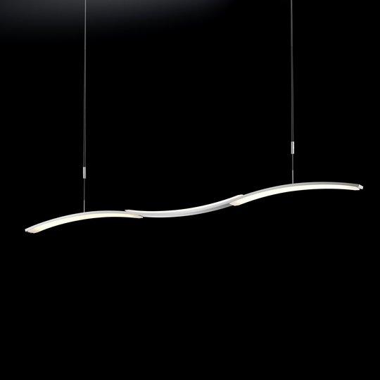 BANKAMP Mondrian -LED-riippuvalaisin, alumiini